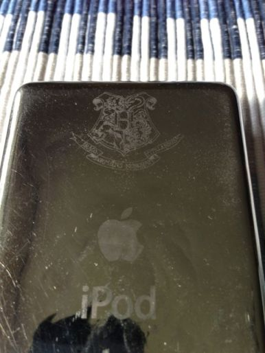 My scruffy Harry Potter iPod